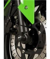 R&G RACING Fork Protectors Black Kawasaki ZX250R Ninja