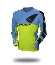 UFO Division Jersey Neon Yellow/Blue