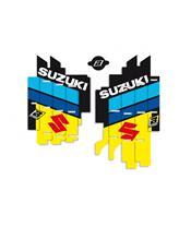 Kit déco de cache radiateur BLACKBIRD Replica Racing Team 2019 Suzuki RM-Z450
