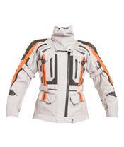 RST Pro Series Paragon V Jacket Textile silver/Flo Red Size L