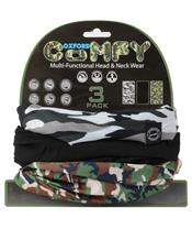 Tour de cou OXFORD Comfy Camo pack de 3