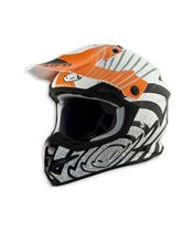 Casque UFO Warrior Shock orange T.