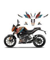 Decoratiekit BLACKBIRD Onerace KTM 125/200/390 Duke