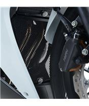 R&G RACING Black Downpipe Grille Honda CBR500R