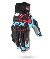 Gants LEATT GPX 5.5 Windblock noir-bleu-rouge t.XS - 6