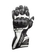 RST Axis CE Gloves Leather White Size M Men