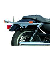 Kit de fixation sacoches cavalières KLICBAG chrome Harley Davidson