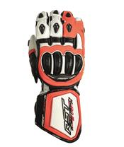 RST Tractech Evo R CE Gloves Leather Flo Red Siz