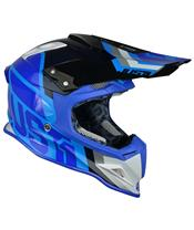 Casque JUST1 J12 Unit White/Blue