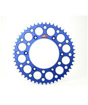 RENTHAL Ultralight™ Rear Sprocket 50 Teeth Alu Self-Cleaning 520 Pitch Type 224U Blue