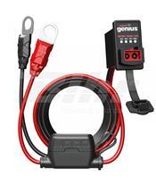 Tester de batería NOCO ODBII 12V + conexión permanente, cable 60cm