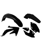 RACETECH Plastik-Kit schwarz Honda CRF450X
