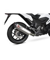 Schalldämpfer Serket Edelstahl Scorpion Honda NC750 S/X