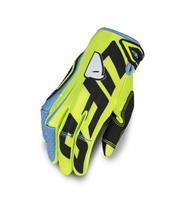 UFO Blaze Gloves Neon Yellow/Blue Size S