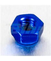 Porca de alumínio Pro-Bolt autoblocante M5 azul LNYN5B