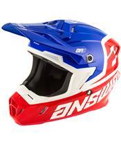 ANSWER AR1 Voyd Helmet Red/Reflex/White