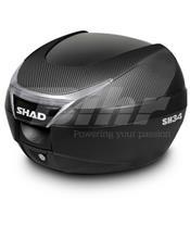 Baúl SHAD SH34 Tapa Carbono