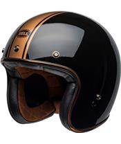 BELL Custom 500 DLX Helmet Rally Gloss Black/Bronze