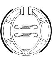 Mâchoires de frein TECNIUM BA117 organique