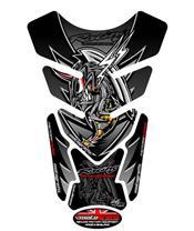Protection de réservoir MOTOGRAFIX 4pcs noir Honda