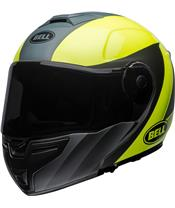 Casque BELL SRT Modular Presence Matte/Gloss Grey/Neon Yellow
