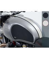 R&G RACING Tank Traction Grip 2 Pieces Clear Triumph Thruxton/Thruxton R