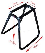 BIHR Foldable Trial Stand Black