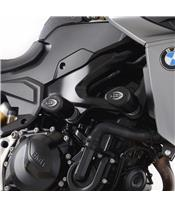 Tampons de protection R&G RACING Aero noir BMW F900R