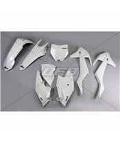 Kunststoff-Kit UFO weiß KTMSX125/150 & SX-F