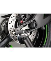 LIGHTECH Gabel- und Schwingenschutz (Radachsen) schwarz Honda X-Adv
