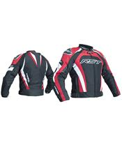 RST TracTech Evo 3 Jacket CE Textile Red