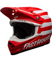 BELL Moto-9 Mips Helm Signia Matte Red/White