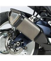R&G RACING Exhaust Guard Black Suzuki GSX-R600