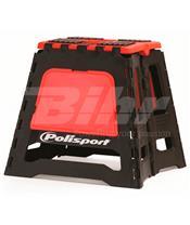 Caballete plegable de plástico Polisport rojo 8981500004
