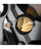 Tapón de llenado de aceite Pro-Bolt Kawasaki Aluminio oro OFCK10G