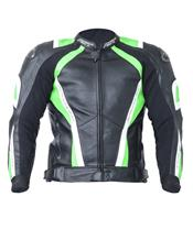 RST Pro Series CPX-C Jacket Leather Neon Green