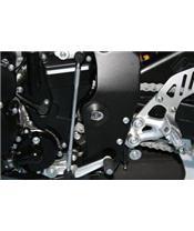 Insert de cadre gauche R&G RACING noir Suzuki GSX-R600/750 / GSX-S1000/F