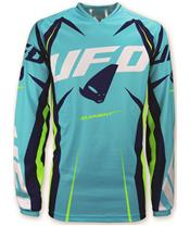 UFO Element Jersey Turquoise/Yellow