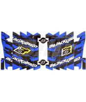 AUTOCOLANTES para grelhas de radiador Blackbird Yamaha A204