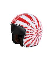 ORIGINE Sprint Helmet Japanese Bobber White/Red