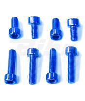 Kit tornilleria tapón depósito Pro-Bolt Suzuki Aluminio azul TSUZB