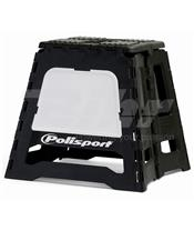 Caballete plegable de plástico Polisport blanco 8981500006