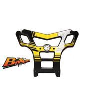 Para-choques AXP, polietileno PEAD, amarela, Suzuki LT-R450