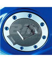 Kit tornilleria tapón depósito Pro-Bolt Yamaha Aluminio azul TYAMB