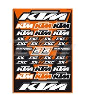 Kit AUTOCOLANTES Blackbird Standard KTm 5523