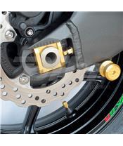 Diábolos para stand de paddock 10mm Pro-Bolt Aluminio oro BOB10G
