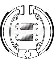 Zapatas de freno Tecnium BA011