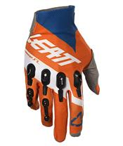 LEATT GPX 4.5 Lite Gloves Orange/Denim Size M/EU8/US9