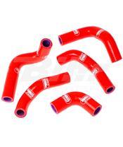 Kit tubos radiador Samco Husqvarna vermelho HUS-1-RD