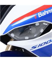 R&G RACING Headlight Shield Translucent BMW S1000RR